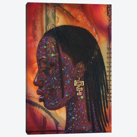 Sungirl Reboot Canvas Print #FOD81} by Fred Odle Art Print