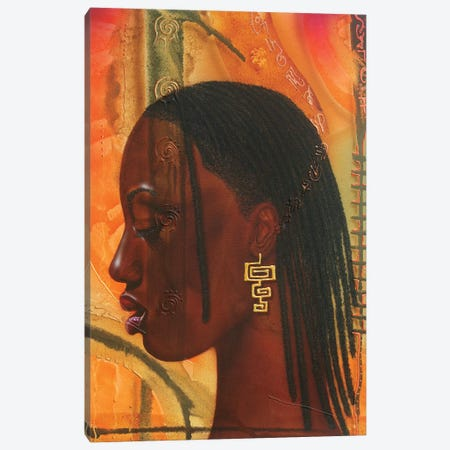 Sungirl Canvas Print #FOD82} by Fred Odle Art Print