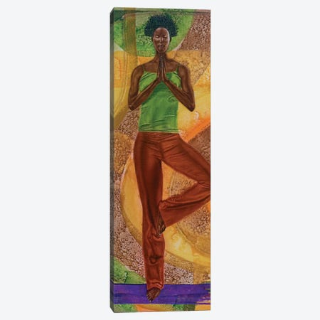 Tree Pose Canvas Print #FOD97} by Fred Odle Canvas Print