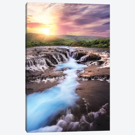 Lost Treasure Of Iceland Canvas Print #FOL12} by Florian Olbrechts Canvas Art
