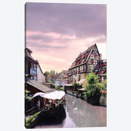 One Lifetime Pink Sunset, Colmar, France Canvas Print #FOL14} by Florian Olbrechts Canvas Art Print