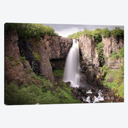 Play With Time In Iceland, Long Exposure Shot Canvas Print #FOL16} by Florian Olbrechts Canvas Art Print