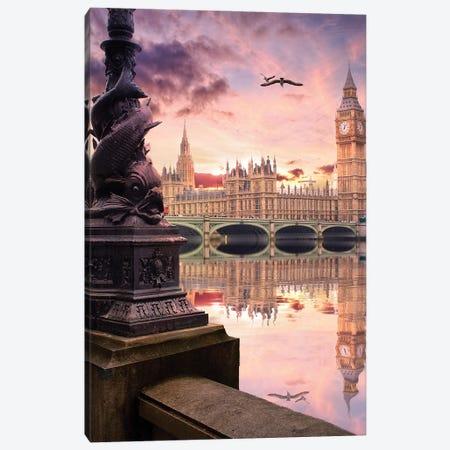 When London Speak Canvas Print #FOL28} by Florian Olbrechts Canvas Print