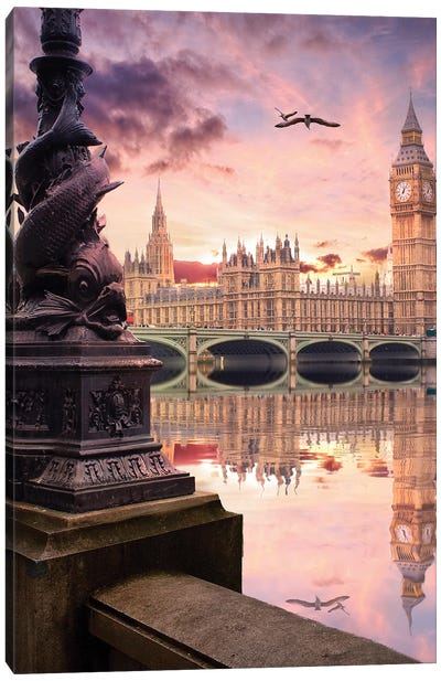 When London Speak Canvas Art Print