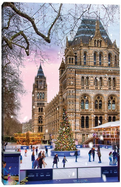 Winter In London Canvas Art Print