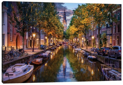 Amsterdam Wonderland Canvas Art Print