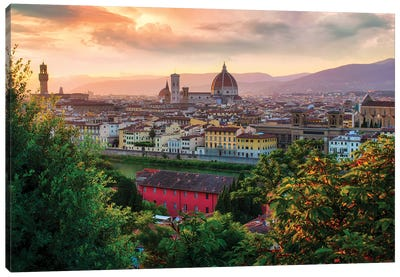 Firenze, Italia Canvas Art Print