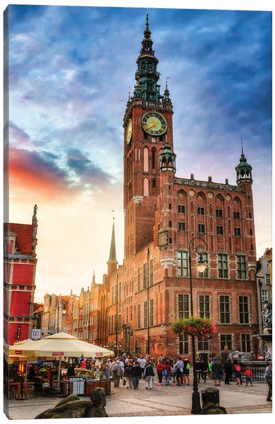 Gdansk, Poland Canvas Art Print