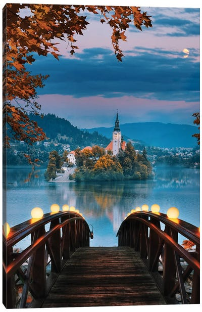 Lake Bled, Slovenia Canvas Art Print