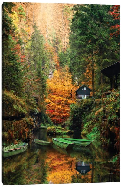 Bohemian Switzerland (Czech Republic) Canvas Art Print