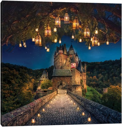 Burg Eltz, Germany Canvas Art Print