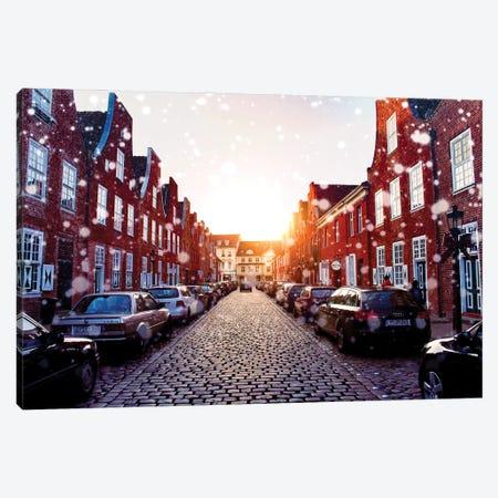Dutch Quarter, Potsdam, Germany Canvas Print #FOL5} by Florian Olbrechts Canvas Print