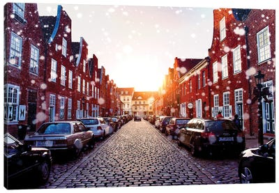 Dutch Quarter, Potsdam, Germany Canvas Art Print