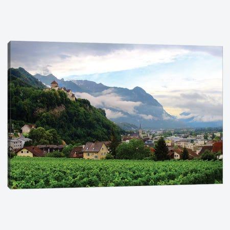 Lichtenstein Castle View Canvas Print #FOL9} by Florian Olbrechts Canvas Wall Art