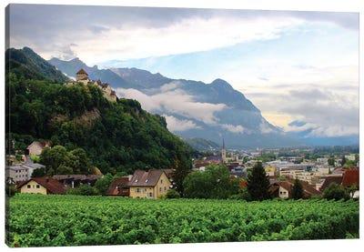 Lichtenstein Castle View Canvas Art Print