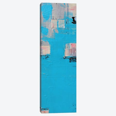 Aqua Canvas Print #FOR4} by Jason Forcier Canvas Artwork