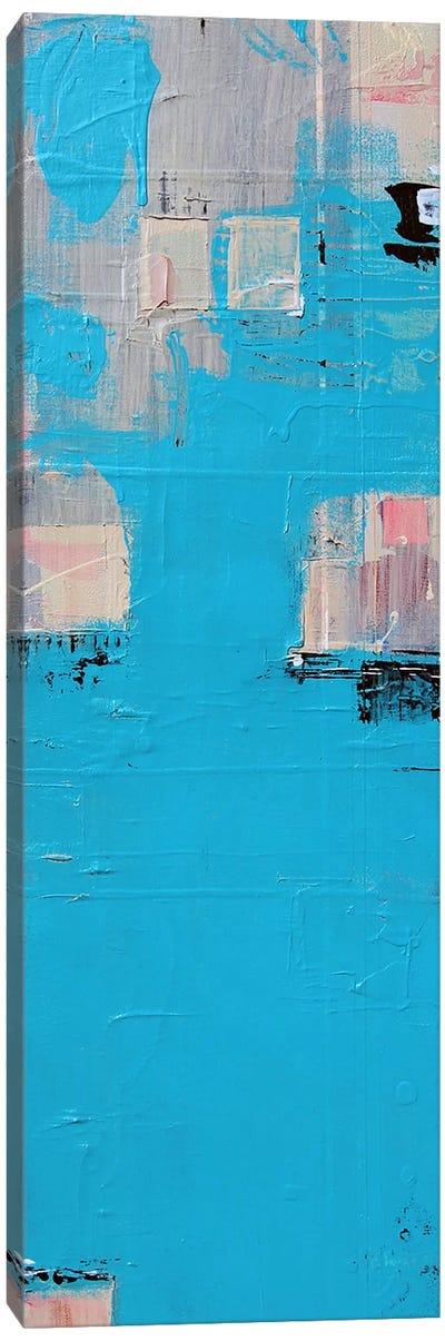 Aqua Canvas Print #FOR4