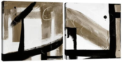 Affirmation - Choices Diptych Canvas Art Print