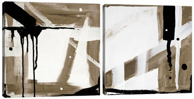 Compromise - Maybe Diptych Canvas Art Print