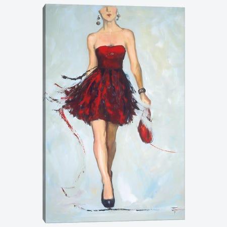 Saturday Night Canvas Print #FOU3} by Joyce Fournier Canvas Wall Art