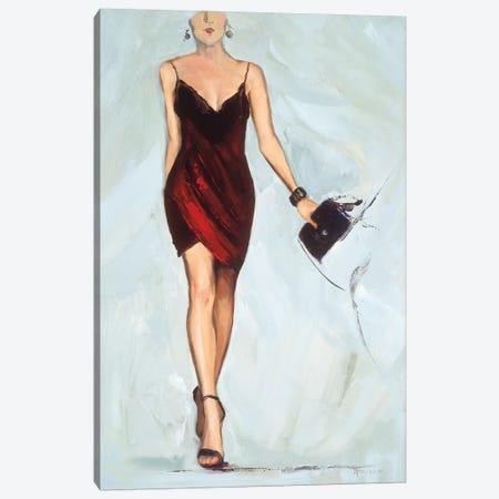 Strike the Pose Canvas Print #FOU4} by Joyce Fournier Canvas Print