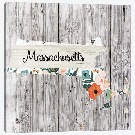 Massachusetts Canvas Print #FPP100} by Front Porch Pickins Canvas Art