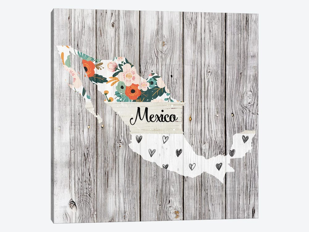 Mexico by Front Porch Pickins 1-piece Canvas Artwork