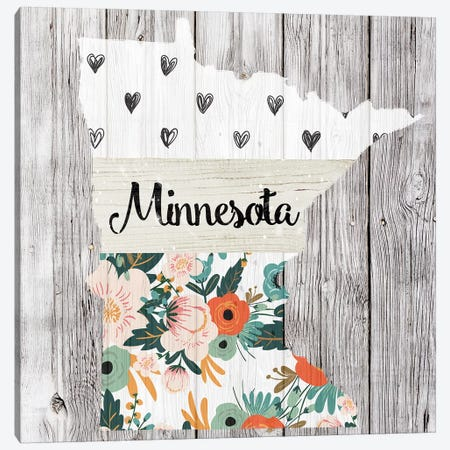 Minnesota Canvas Print #FPP103} by Front Porch Pickins Canvas Wall Art