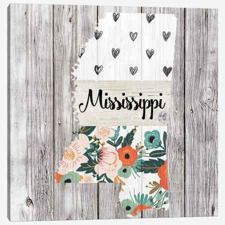 Mississippi Canvas Print #FPP104} by Front Porch Pickins Canvas Art Print