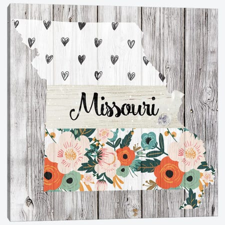 Missouri Canvas Print #FPP105} by Front Porch Pickins Canvas Print