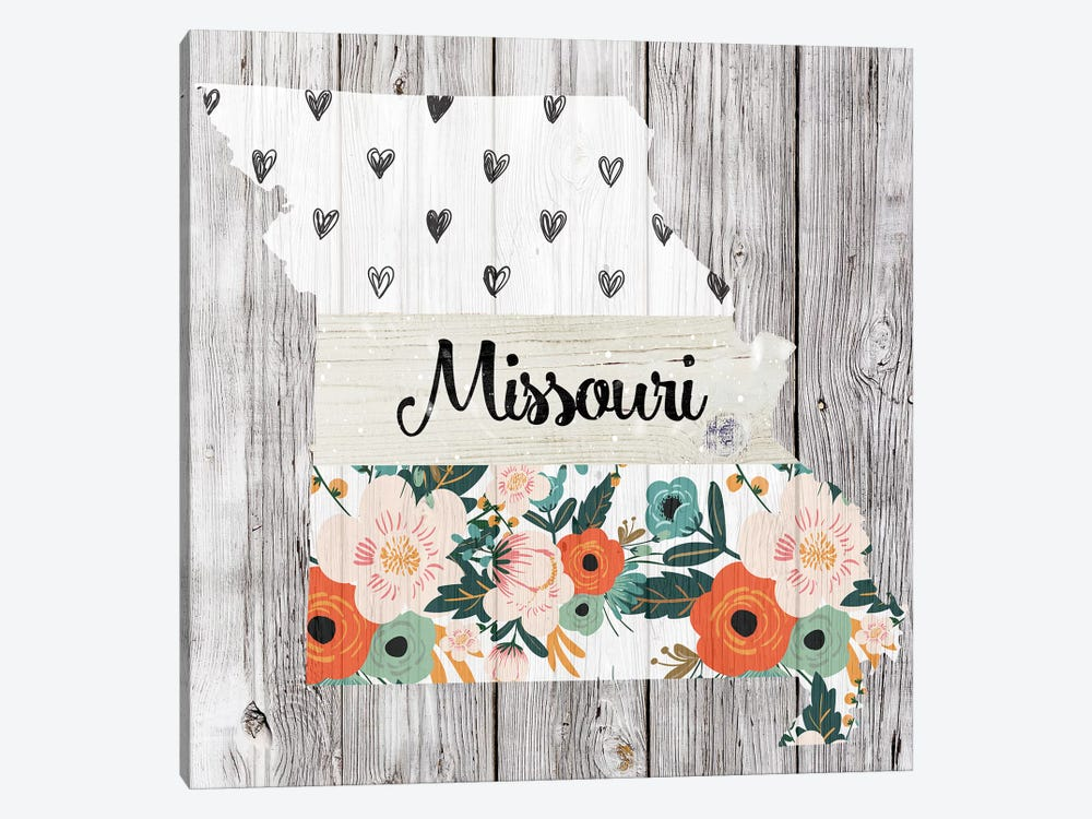 Missouri by Front Porch Pickins 1-piece Canvas Art
