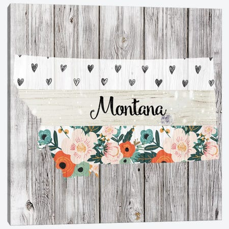 Montana Canvas Print #FPP106} by Front Porch Pickins Art Print