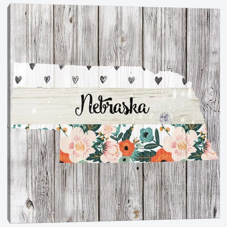 Nebraska Canvas Print #FPP107} by Front Porch Pickins Canvas Print