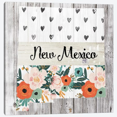 New Mexico Canvas Print #FPP111} by Front Porch Pickins Art Print