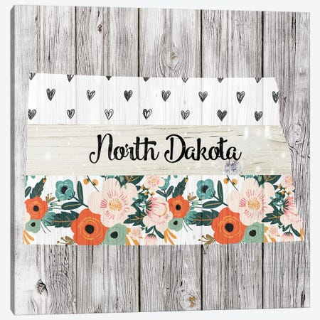 North Dakota Canvas Print #FPP114} by Front Porch Pickins Canvas Artwork