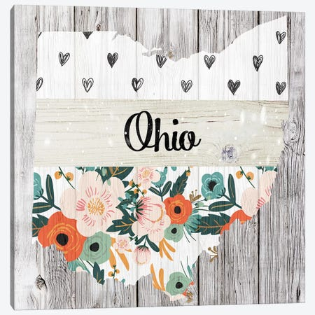 Ohio Canvas Print #FPP115} by Front Porch Pickins Canvas Wall Art
