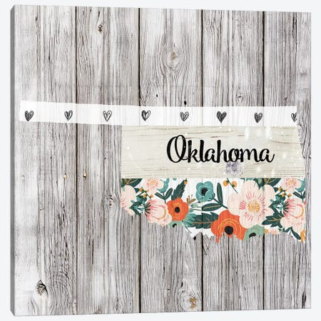 Oklahoma Canvas Print #FPP116} by Front Porch Pickins Canvas Wall Art
