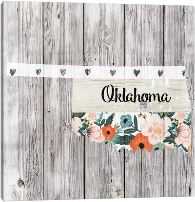 Oklahoma Canvas Art Print