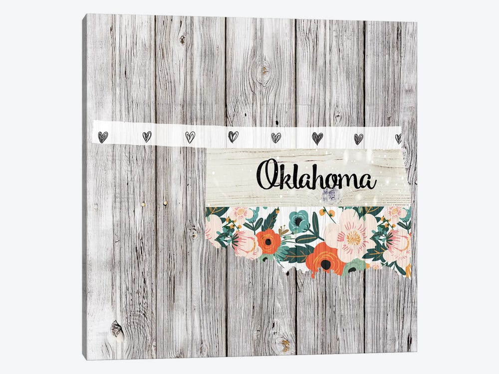 Oklahoma by Front Porch Pickins 1-piece Canvas Artwork