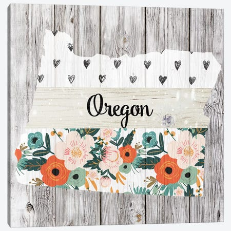 Oregon Canvas Print #FPP117} by Front Porch Pickins Canvas Wall Art