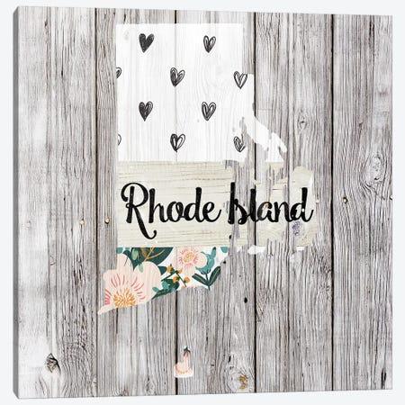 Rhode Island 3-Piece Canvas #FPP119} by Front Porch Pickins Art Print