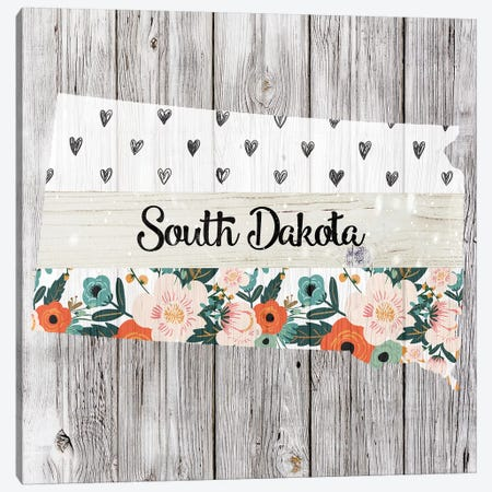 South Dakota Canvas Print #FPP121} by Front Porch Pickins Canvas Wall Art
