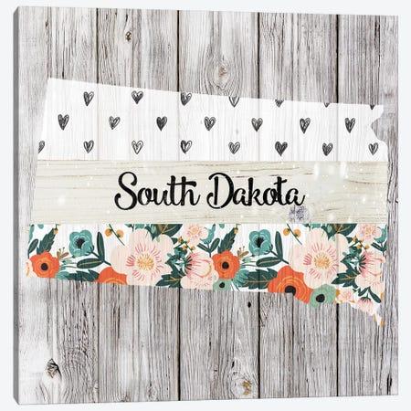 South Dakota Canvas Print #FPP121} by Front Porch Pickins Canvas Wall Art