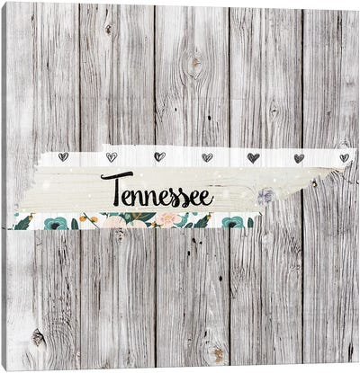 Tennessee Canvas Art Print