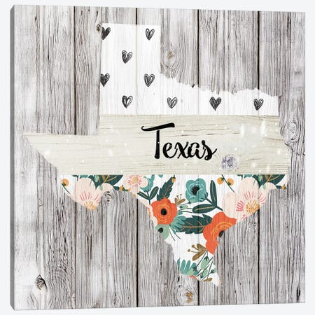 Texas Canvas Print #FPP123} by Front Porch Pickins Canvas Wall Art