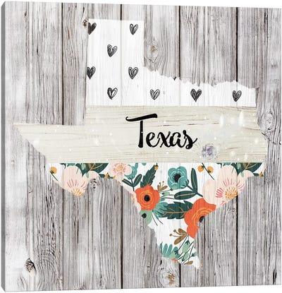 Texas Canvas Art Print