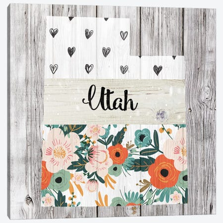 Utah Canvas Print #FPP124} by Front Porch Pickins Art Print