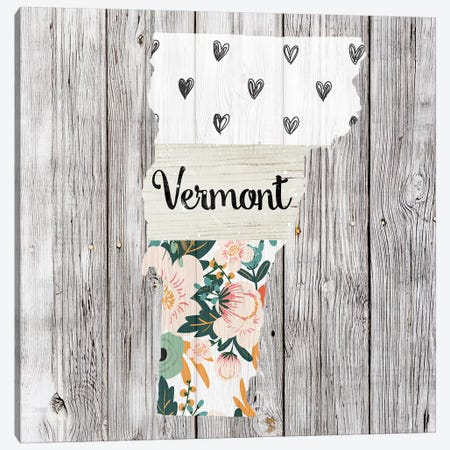 Vermont Canvas Print #FPP125} by Front Porch Pickins Canvas Print