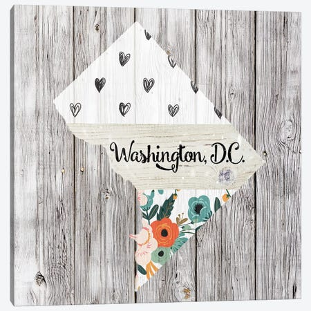 Washington, DC Canvas Print #FPP128} by Front Porch Pickins Canvas Artwork