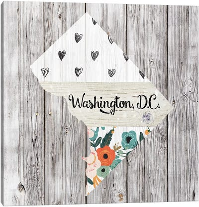 Washington, DC Canvas Art Print